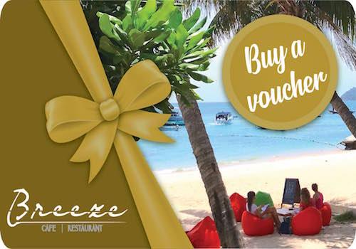 breezekohtao.com 2000 baht gift vouchers sale
