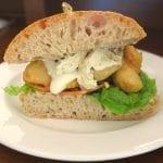 breezekohtao.com Fish finger club sandwich - Beer battered fish goujons, fat chips, soft boiled egg, salad and tartar sauce