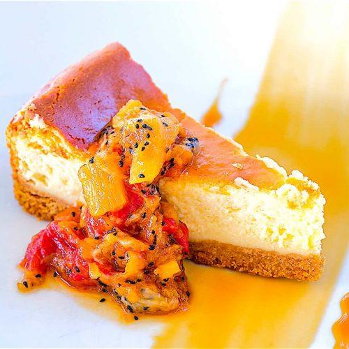 breezekohtao.com baked american cheesecake with jam