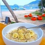 breezekohtao.com breakfast on the beach