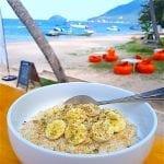 breezekohtao.com breakfast on the beach