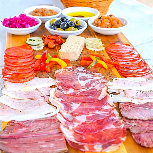 breezekohtao.com cold cuts sharing board restaurant