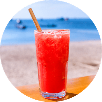 breezekohtao.com cold pressed juices on the beach