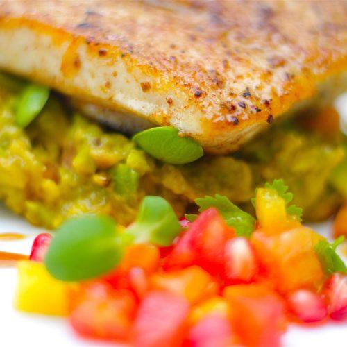breezekohtao.com spicy fish and avocado